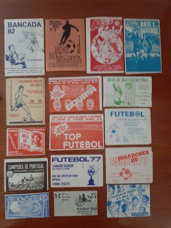 Colecao de carteiras fechadas da 1-divisao do futebol portugues
