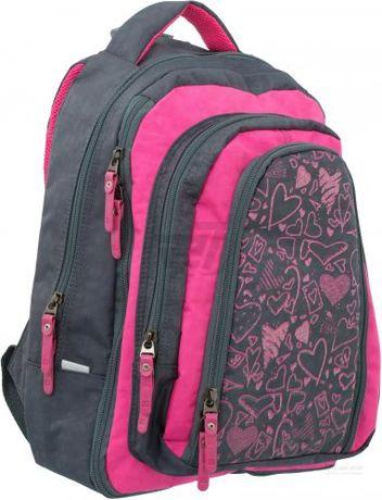 Рюкзак школьный Bagland с бабочками  + пенал с карандашами