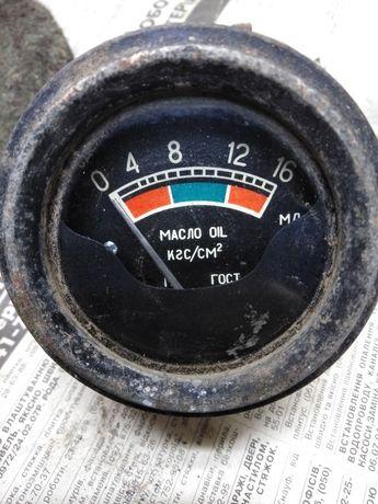 Датчик тиску масла механічний