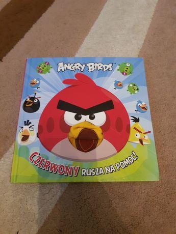 Książka Angry Birds Czerwony rusza na pomoc