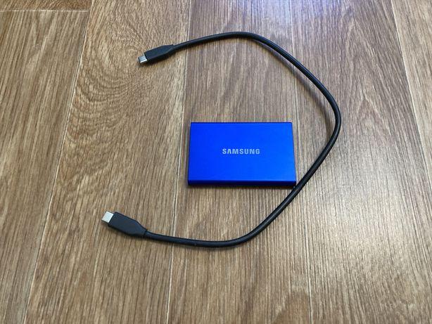 Продам диск Samsung SSD T7 500GB, портативный накопитель, хранилище