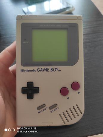 Konsola Nintendo Gameboy, game boy DMG-01 Classics 1989 rok
