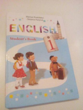 Продам книгу англійської мови 1-го класу English Students book 1