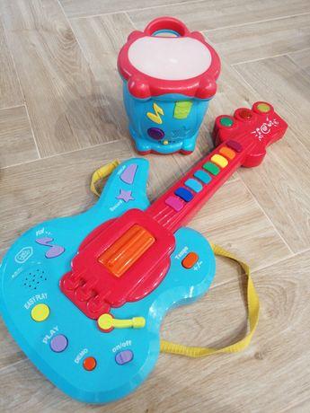 Zabawki interaktywne Gitara i bembenek