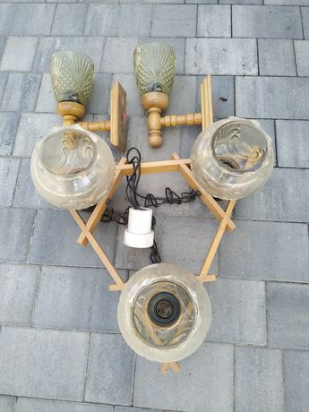 Komplet lampa + 2 kinkiety