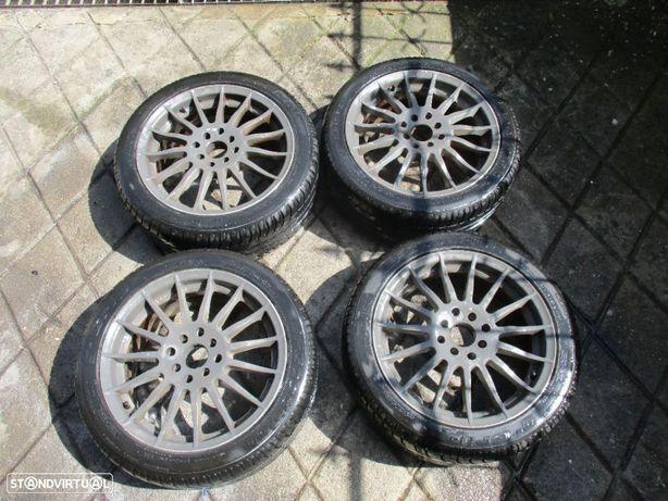 4 Jantes 16 4x100 VW Volkswagen Seat Honda Rover com pneus