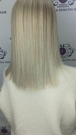 Кератин и ботокс волос. Нужна модель
