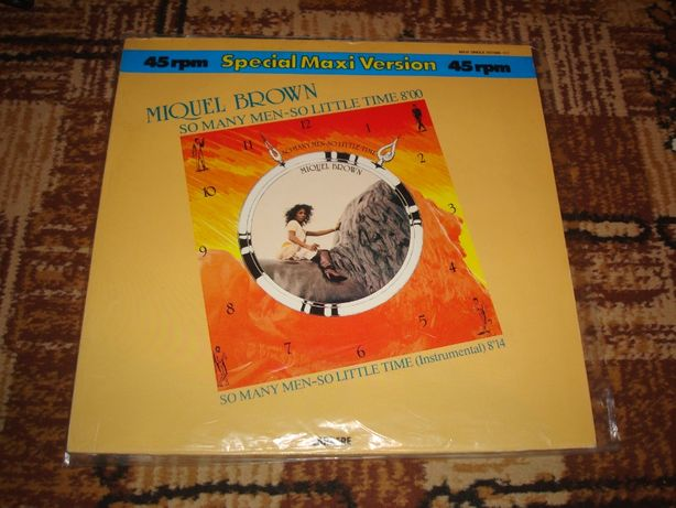 Płyty winylowe Miquel Brown-So Meny Men So Little Time -Maxi