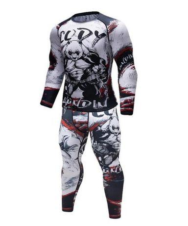 Компрессионный комплект белье одежда Cody Lundin BEAR для бега, мма