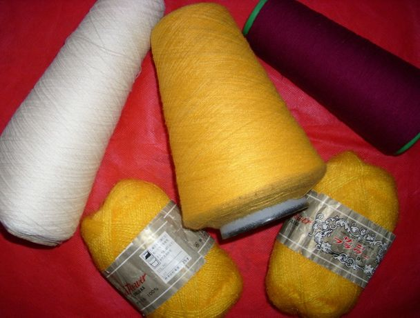 Нитки для шитья и вязания