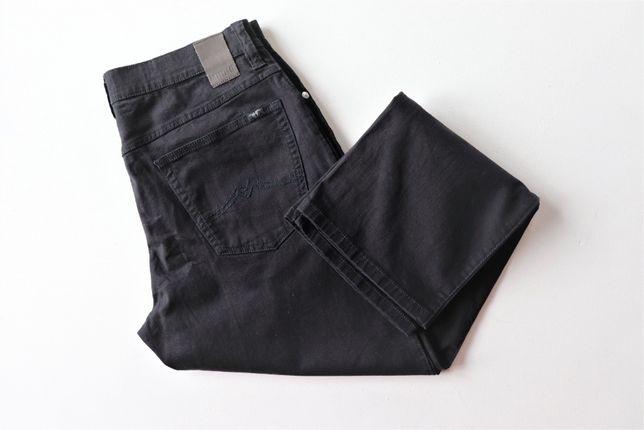 Męskie spodnie jeansowe Mustang Tramper W34 L30 czarne jeansy j.nowe