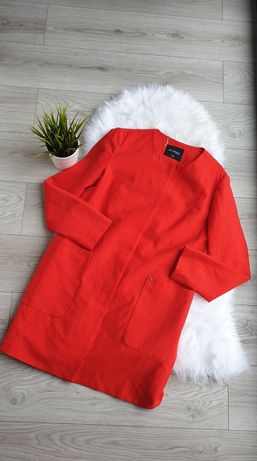 Płaszcz płaszczyk top secret rozmiar L 40 nowy czerwony