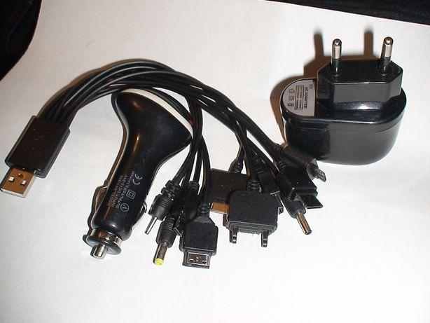 10 в 1-м авто зарядное устройство для телефона от 220в(и12В) Олх-дост