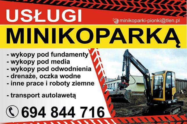 MINIKOPARKA Wywrotka F Vat Konkurencyjne Ceny!