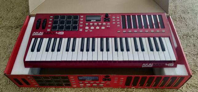 AKAI MAX49 (controlador MIDI)