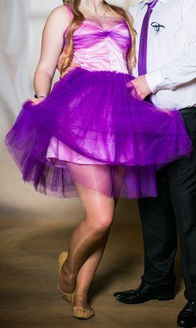 Prześliczna typowo na wesele, studniówkę suknia szyta u krawcowej L