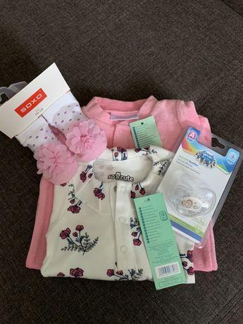 Одяг для новонародженої  (для дівчинки) набір