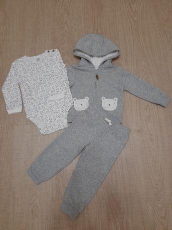 Новый теплый костюм комплект набор Carters