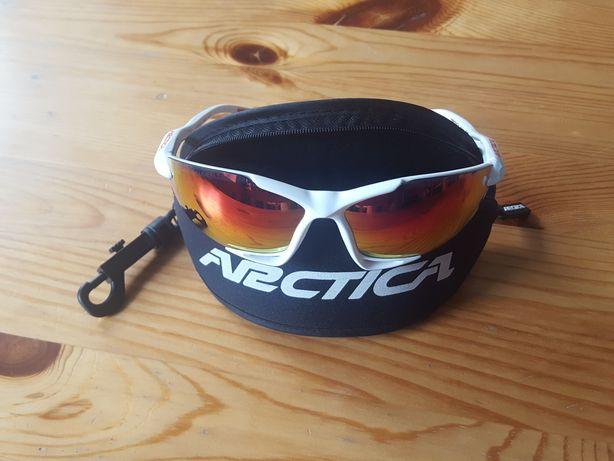 Okulary sportowe / rowerowe ARCTICA Spider S-50D (BRAK GUMKI)