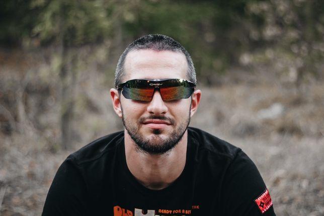 Тактические очки Oakley для рыбалки охоты страйкбола