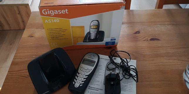 Telefon stacjonarny Siemens Gigaset AS140 bezprzewodowy