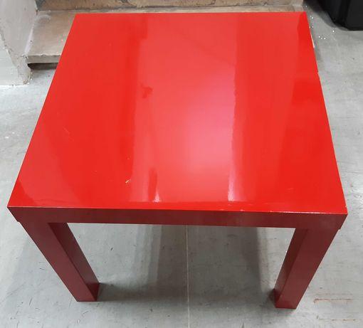 Mesa Centro Apoio IKEA Lack Vermelha