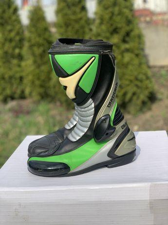 Buty motocyklowe DIADORA sportowe,zielone rozmiar 43