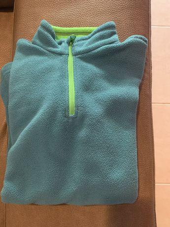 Camisola azul decatlon