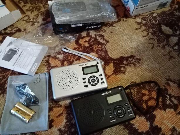 Новый Германия SilverCrest радио приемник цифровой FM AM SW 220V AA