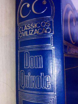 Dom Quixote de Cervantes: 1ª edição.