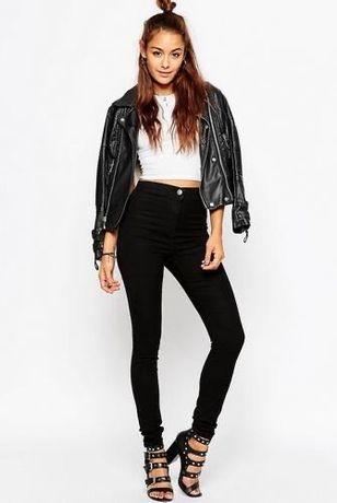 Черные джинсы скинни Gap