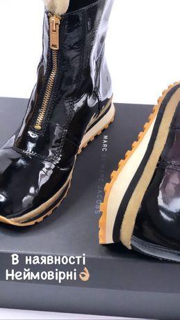 Резино не промокаемые сапоги 39 р., 40 р.,черевики, чоботи MARC JACOBS