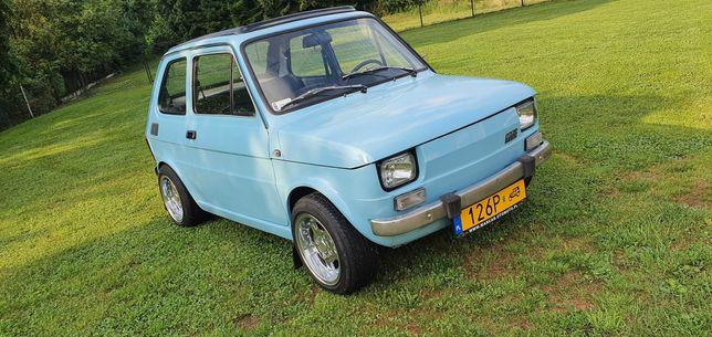 Fiat 126p Otwierany dach ! Kapliczka ! Alu Mahle