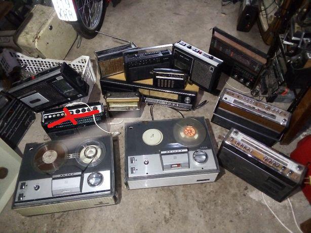 Starocie Telewizor Radio magnetofon zabytkowe pozostałe prl