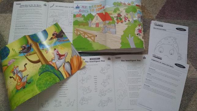 Materiały do nauki języka angielskiego, na lekcje, plakaty, pomysły