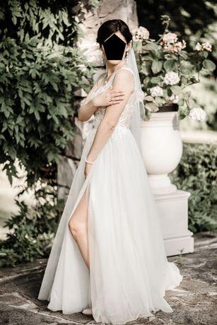 Sprzedam cudowną suknię ślubną Estera kolekcja 2020 kolor ivory.