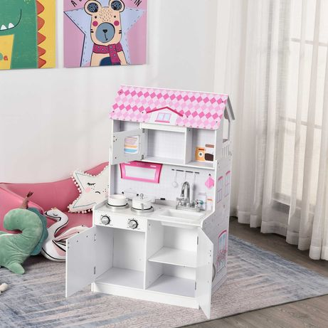 Cozinha e Casa de bonecas para crianças