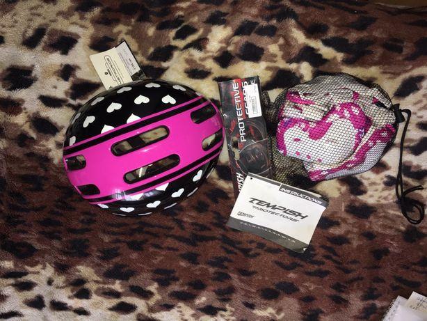 Наколенники, налокотники, шлем для роликов/велосипедов
