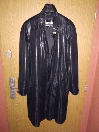 Długi czarny płaszcz Hensel und Mortensen bdb stan