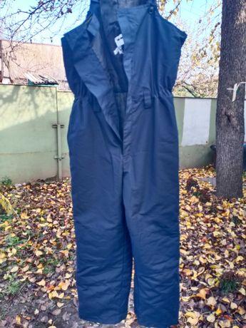 спецодежда рабочие мужские штаны комбинезон полукомбез роба