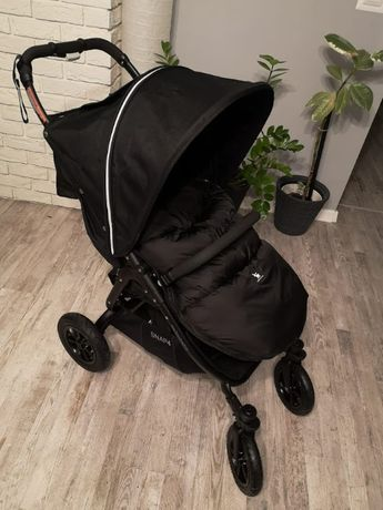 Nowa spacerówka Wózek Valco Baby Snap 4 Sport Coal Black