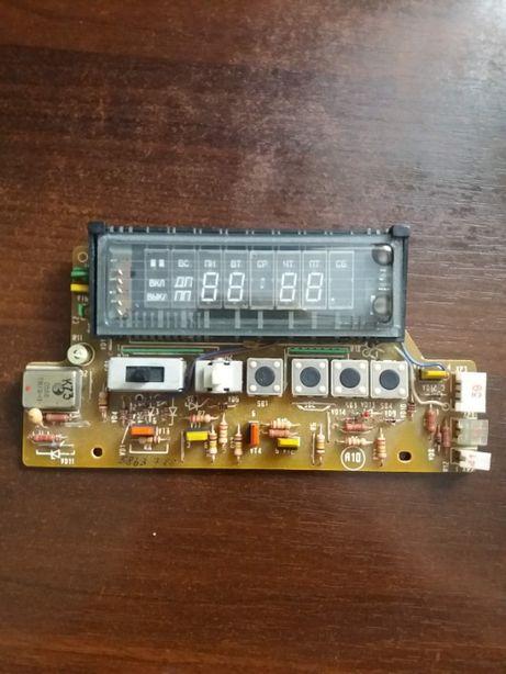 """таймер кассетного видеомагнитофона """"Электроника ВМ-12"""" со схемой"""