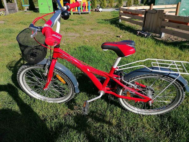Sprzedam piękny czerwony rower firmy Kands twister