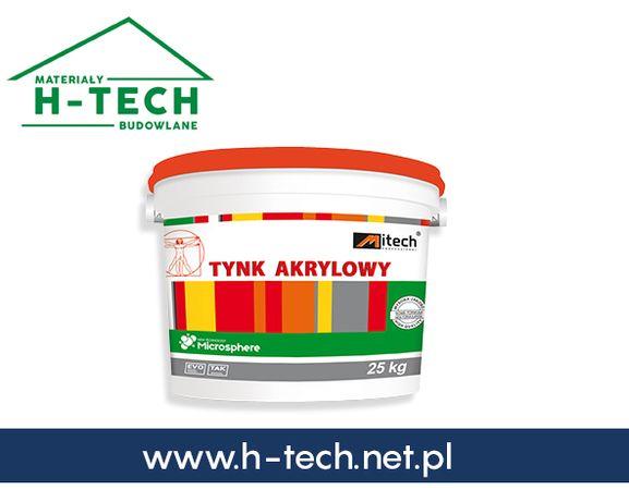Tynk akrylowy silikonowy tynki na styropian biały grafitowy 15 20 10