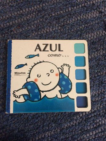 Livro «Azul como...»
