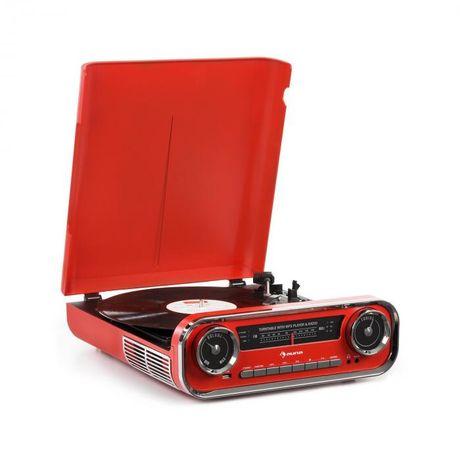 Gramofon AUNA Bluetooth radio FM USB Sklep Wągrowiec
