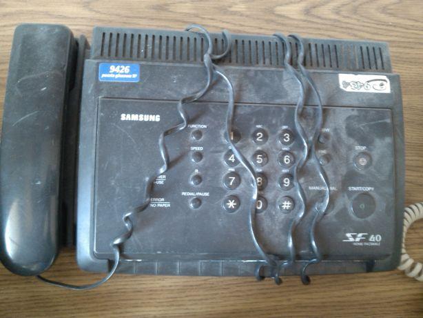 telefon stacjonarny z faksem SAMSUNG SF40, fax-telefon