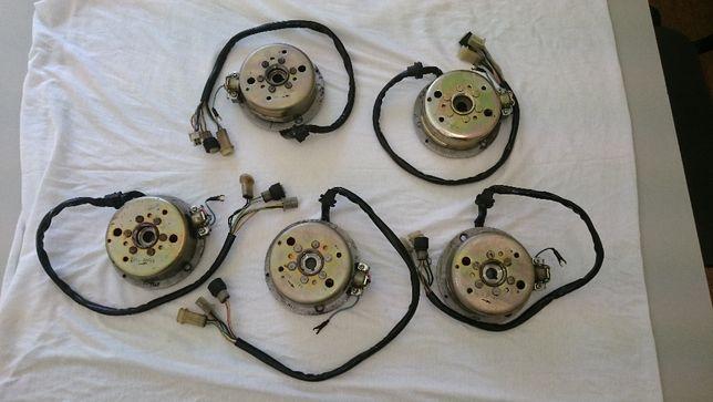 Eletricas originais Yamaha TZR 50 completas (estator + magneto)