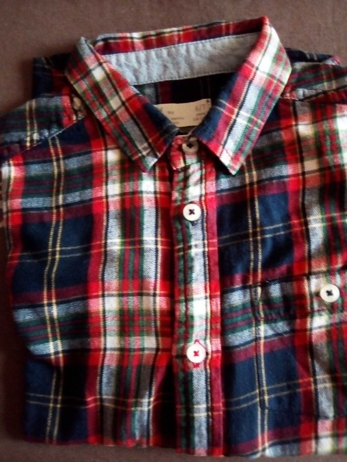 Camisa xadrez Zippy Cartaxo - imagem 1