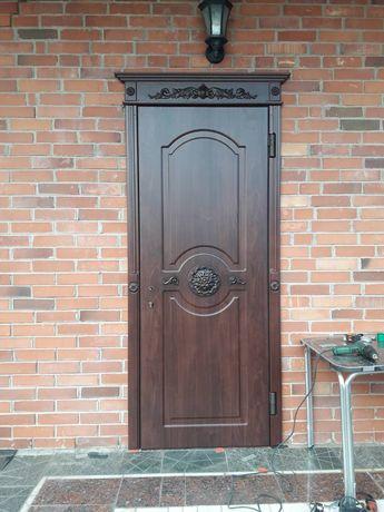 Ремонт, реставрация металлических дверей,установка замков,мдф накладок